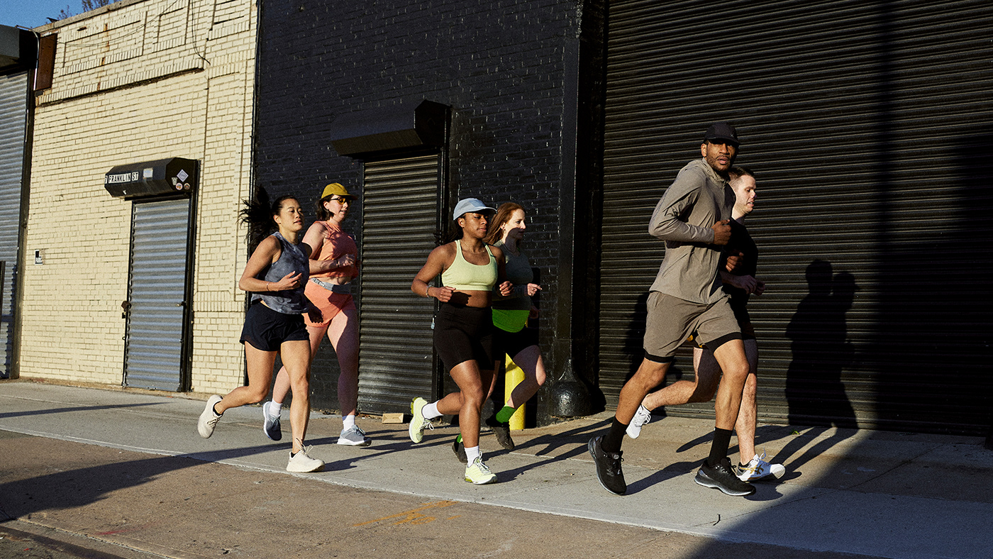Event fitness Global Running Day Lululemon run running