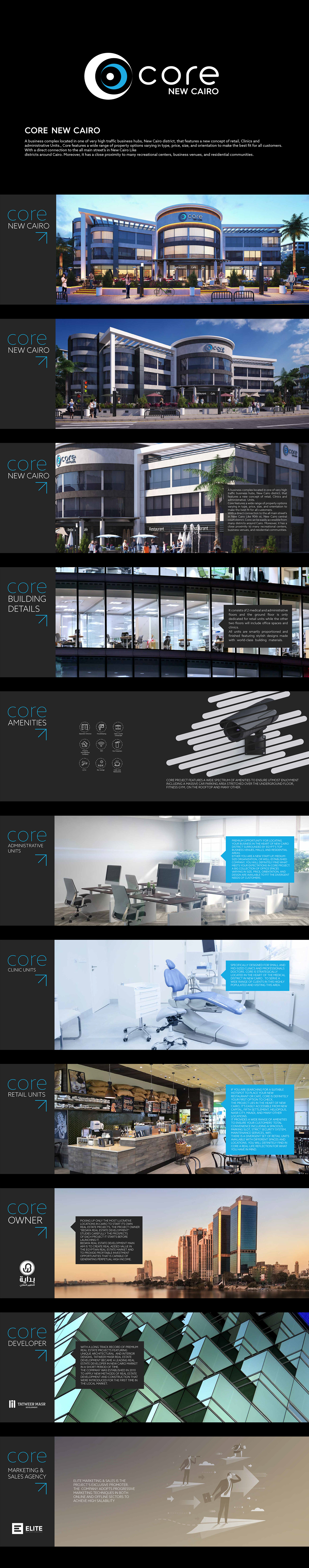 saeed elgarf design logo identity Shopping mall core sign design Logotype center