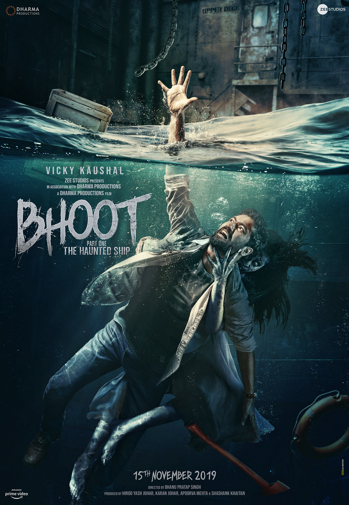 Bhoot Part One: The Haunted Ship (2020) | 1080p | 480p | AMZN WEB-DL DD+5.1 x264 – Telly | DUS-IcTv | BonsaiHD | 5.5 GB | 3.9 GB | 1.1 GB |