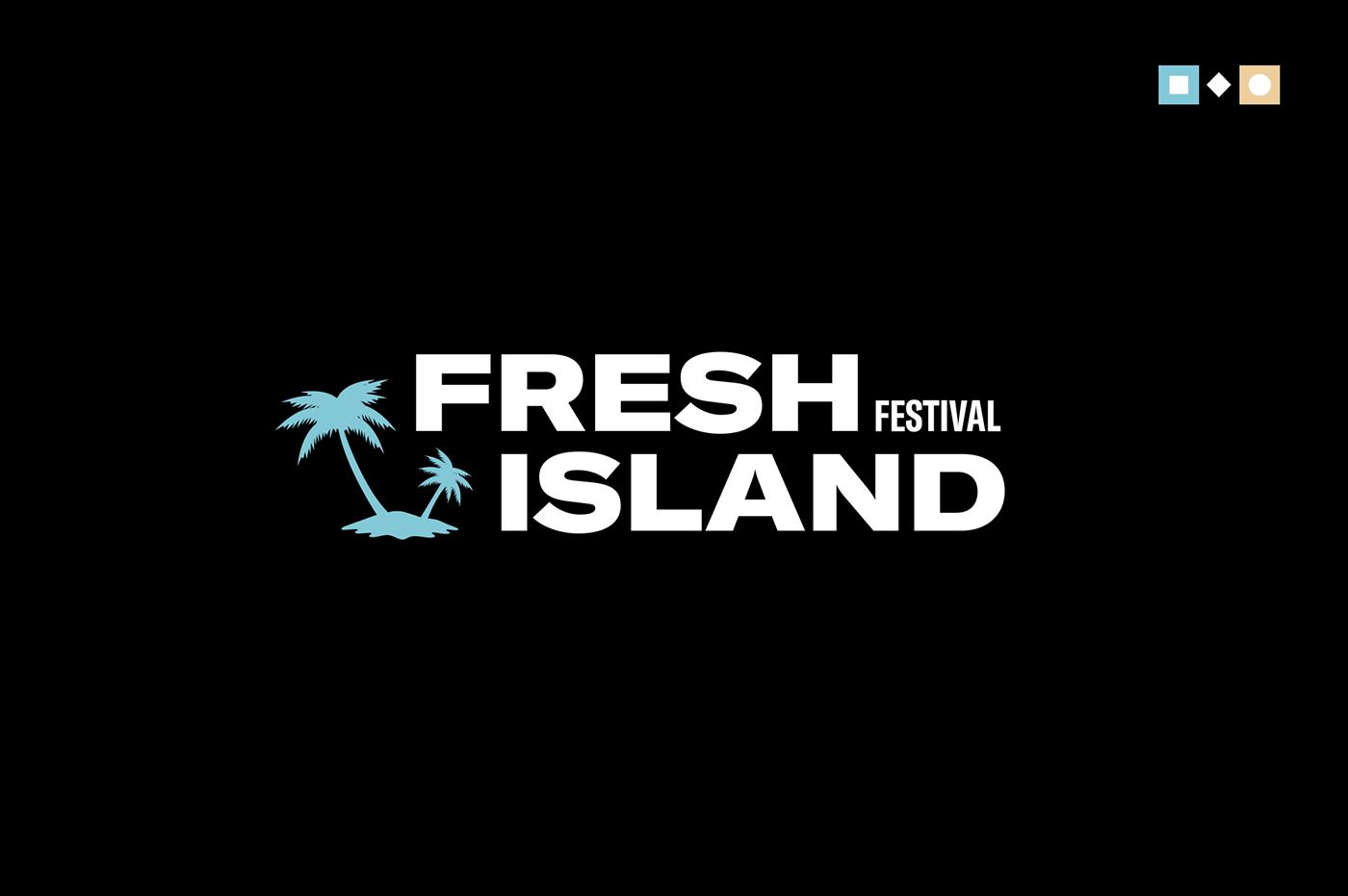 motion branding  guidelines styleguide festival fresh Island animation