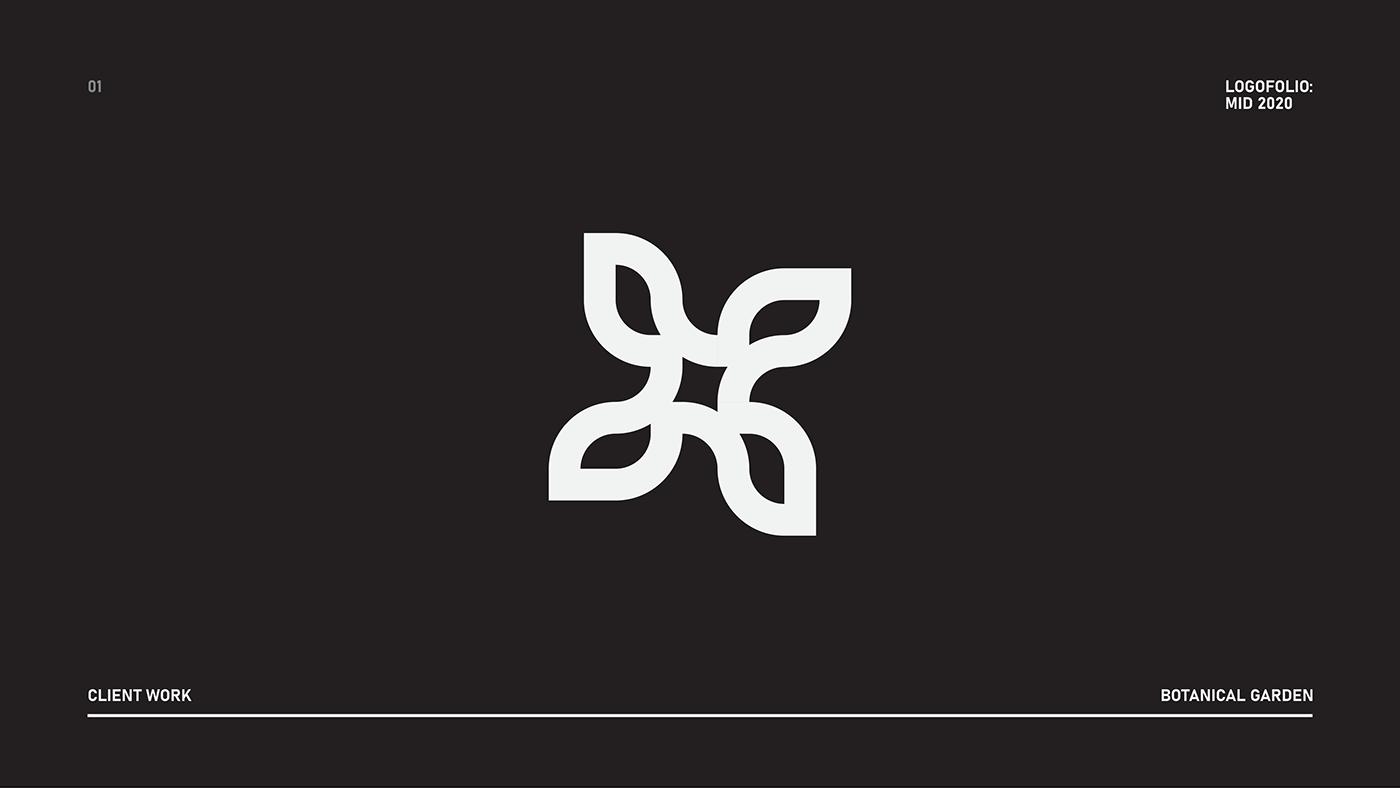 black and white branding  clean logo logofolio modern portfolio brand brand identity logo collection