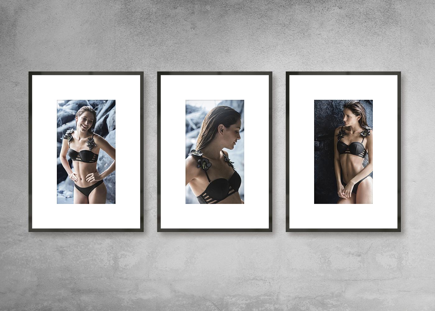 swimwear Collection Fashion  graphic design  art direction  branding  guidelines visual identity