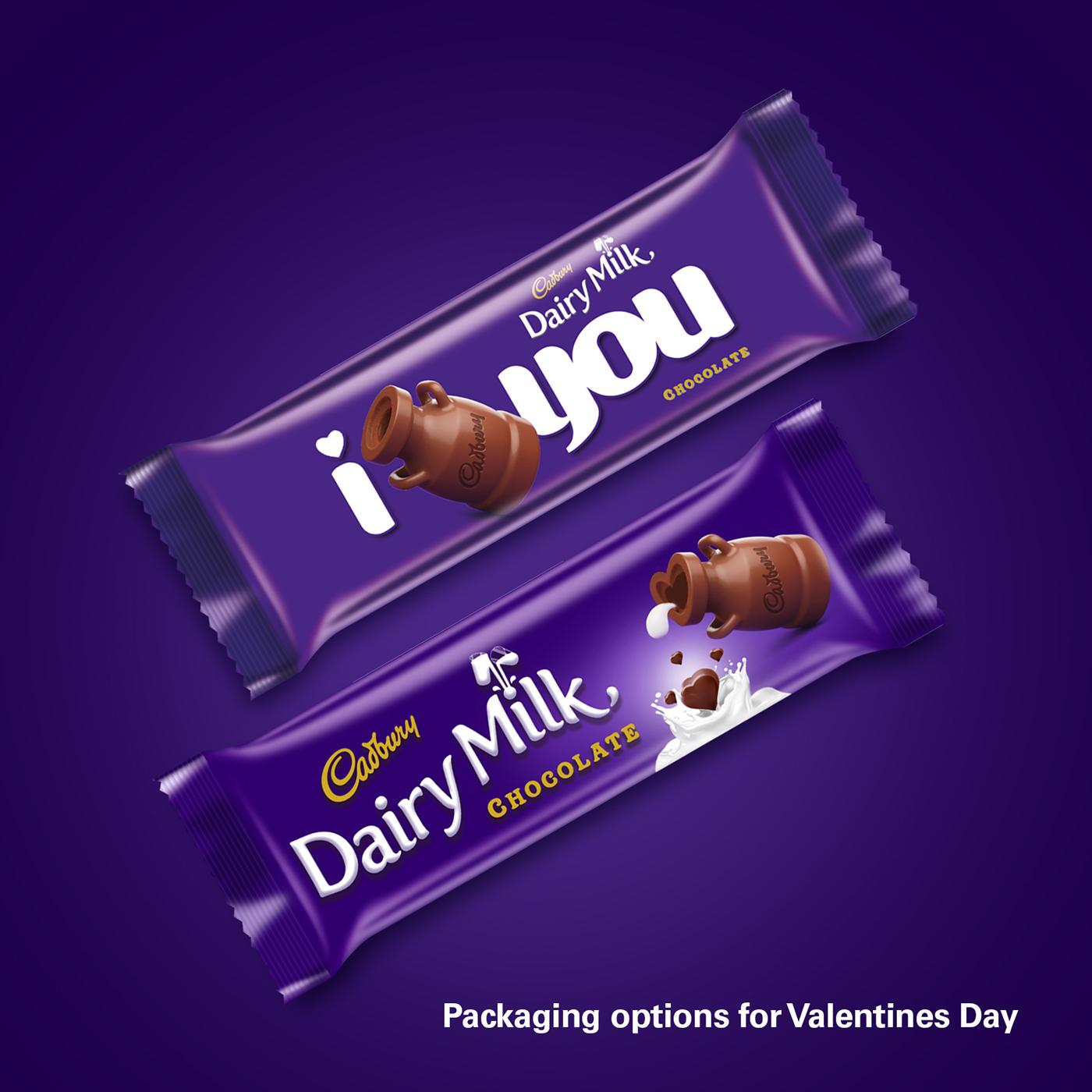 Cadbury Dairy Milk Valentines Day Packaging On Behance