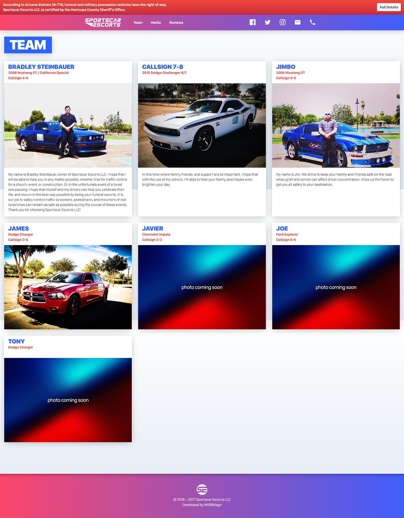 sportscar escorts,Sportscar,funeral,traffic,steinbauer
