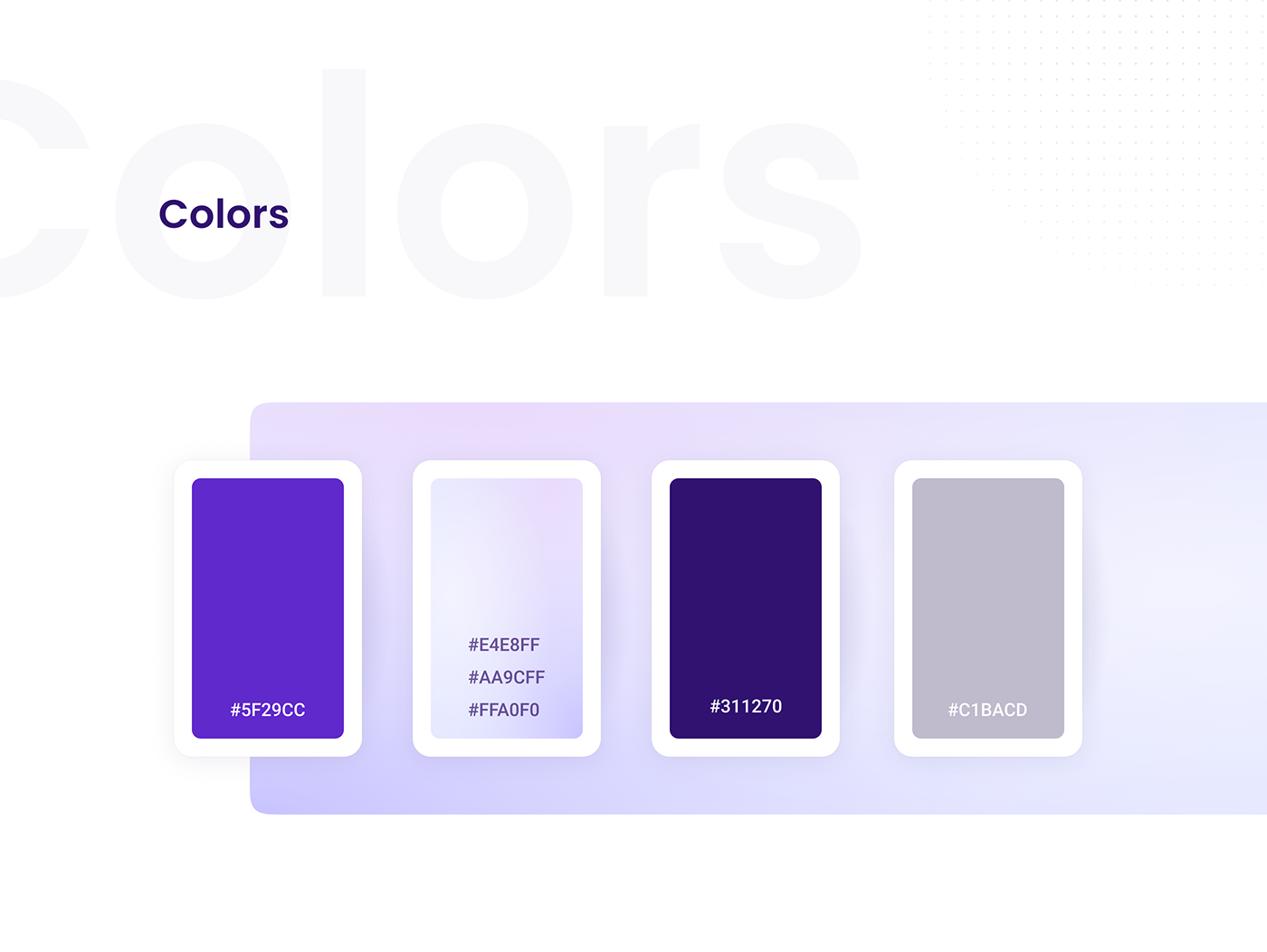 Bank card clear finance interactions minimalistic violet Website White