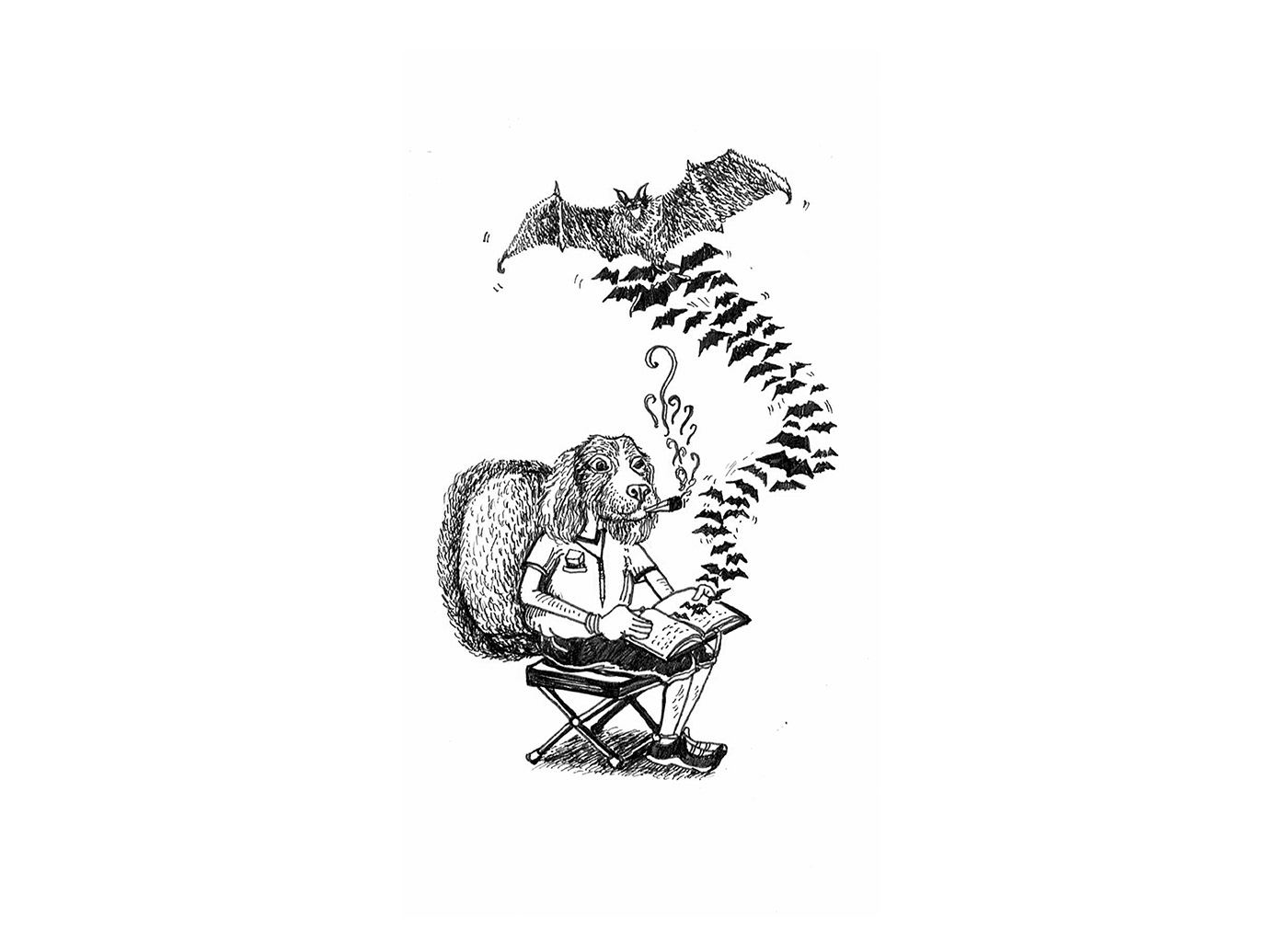 characters drawings illustrations surrealism