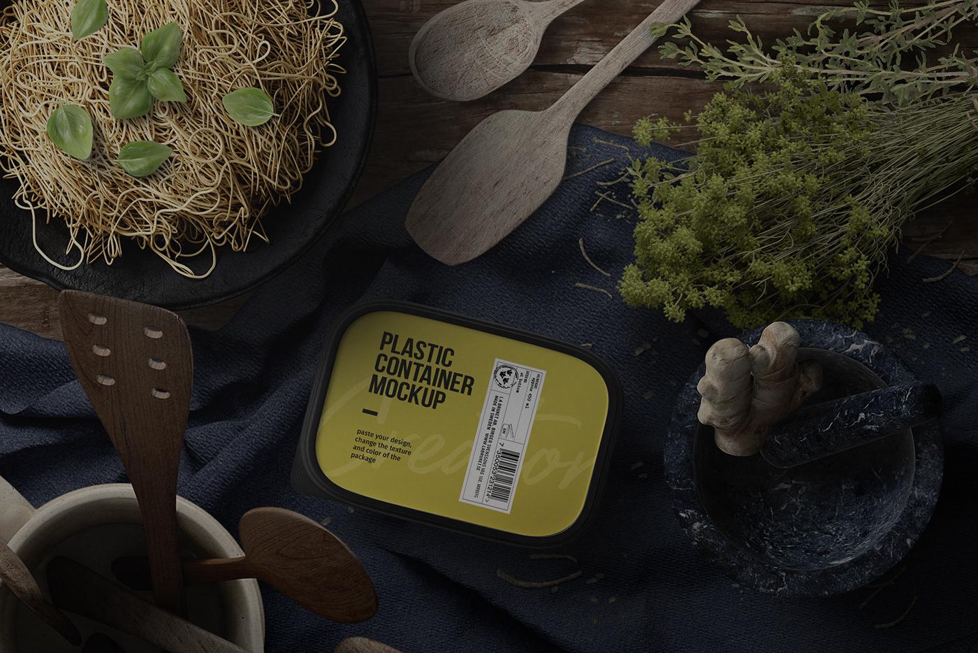 free fee psd frebie Food  Packaging mock up free mockup  cooking Coffee bottle