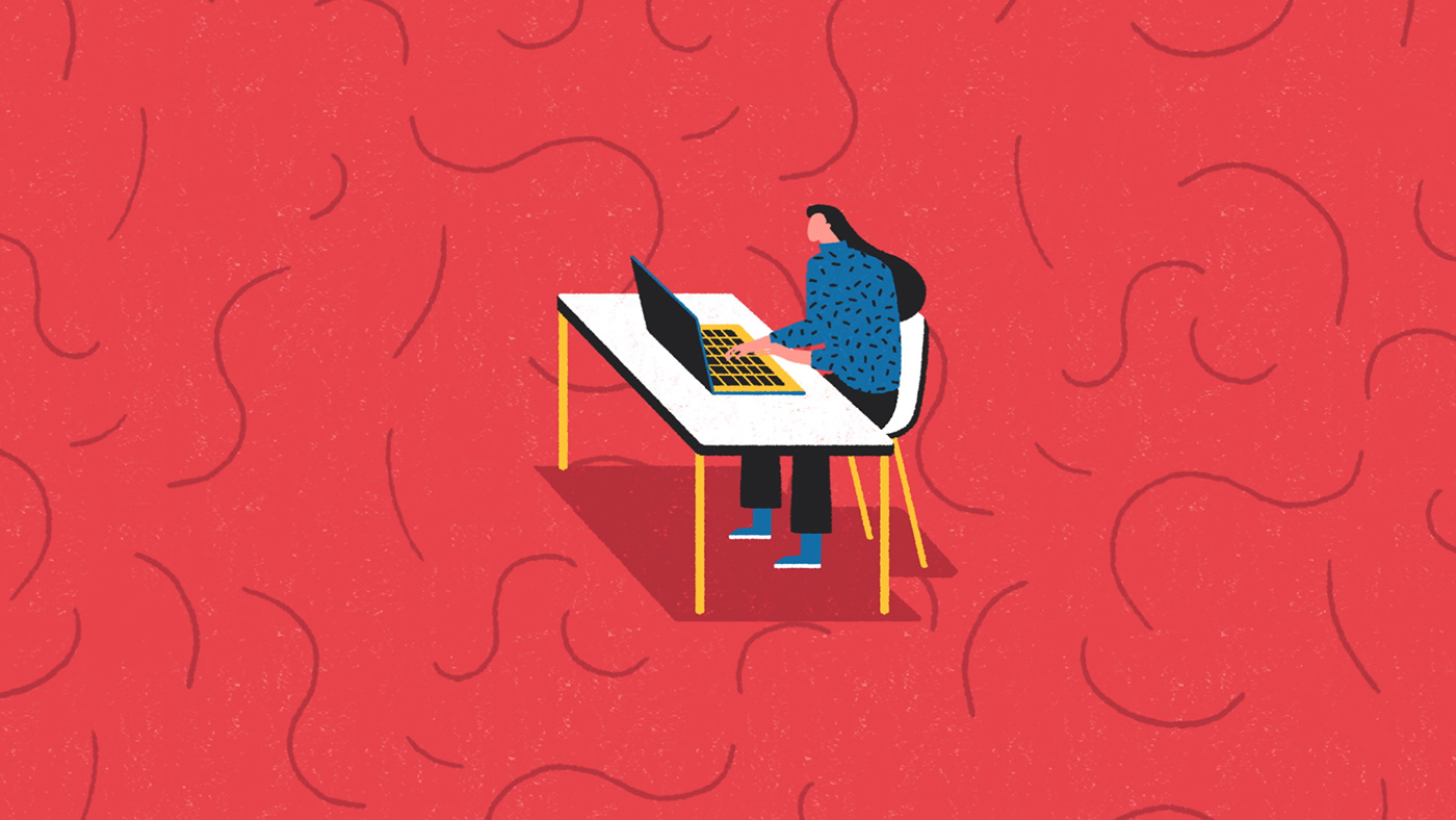 pattern gif 2D colour red reset storyboard animation