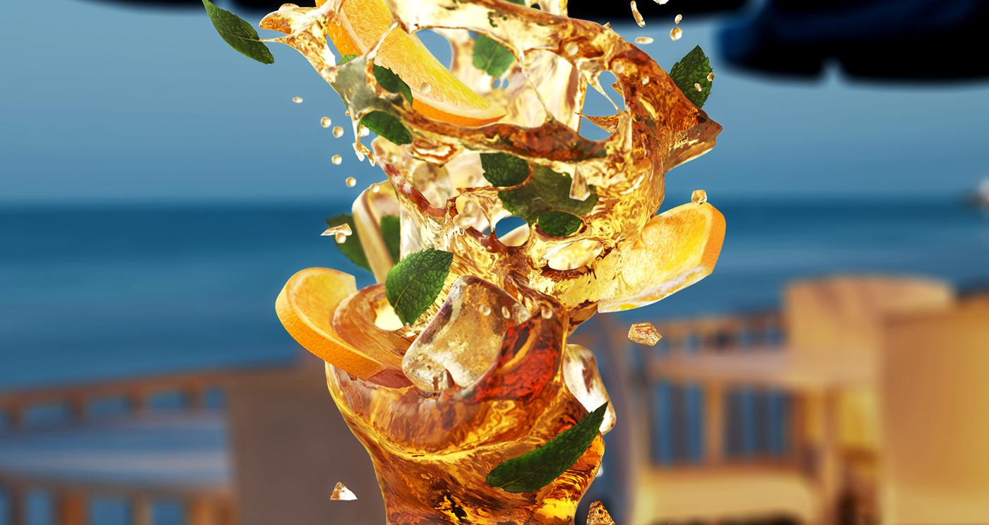 mix swirl Liquid 3D