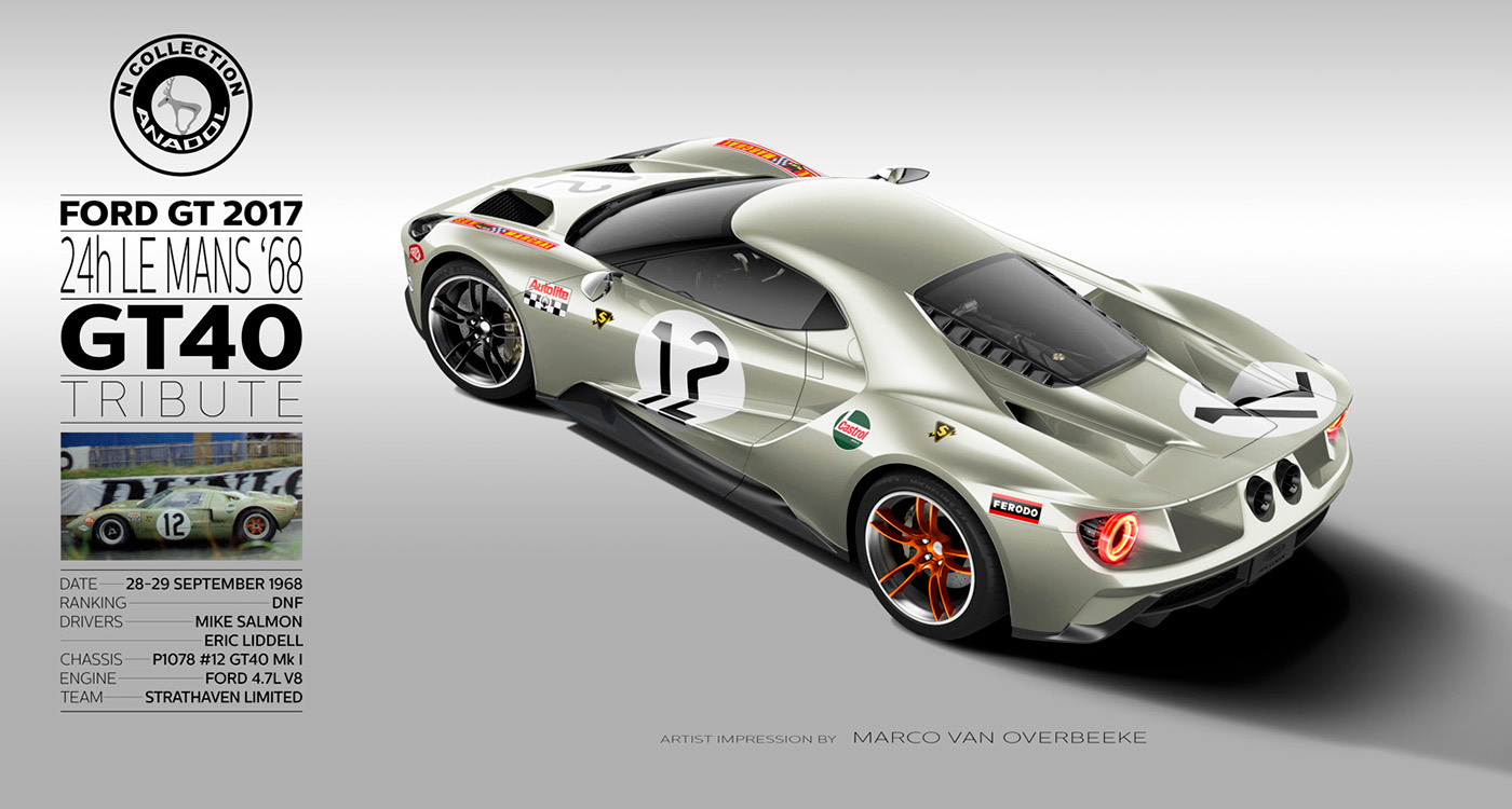 2017 ford gt tribute liveries on wacom gallery. Black Bedroom Furniture Sets. Home Design Ideas