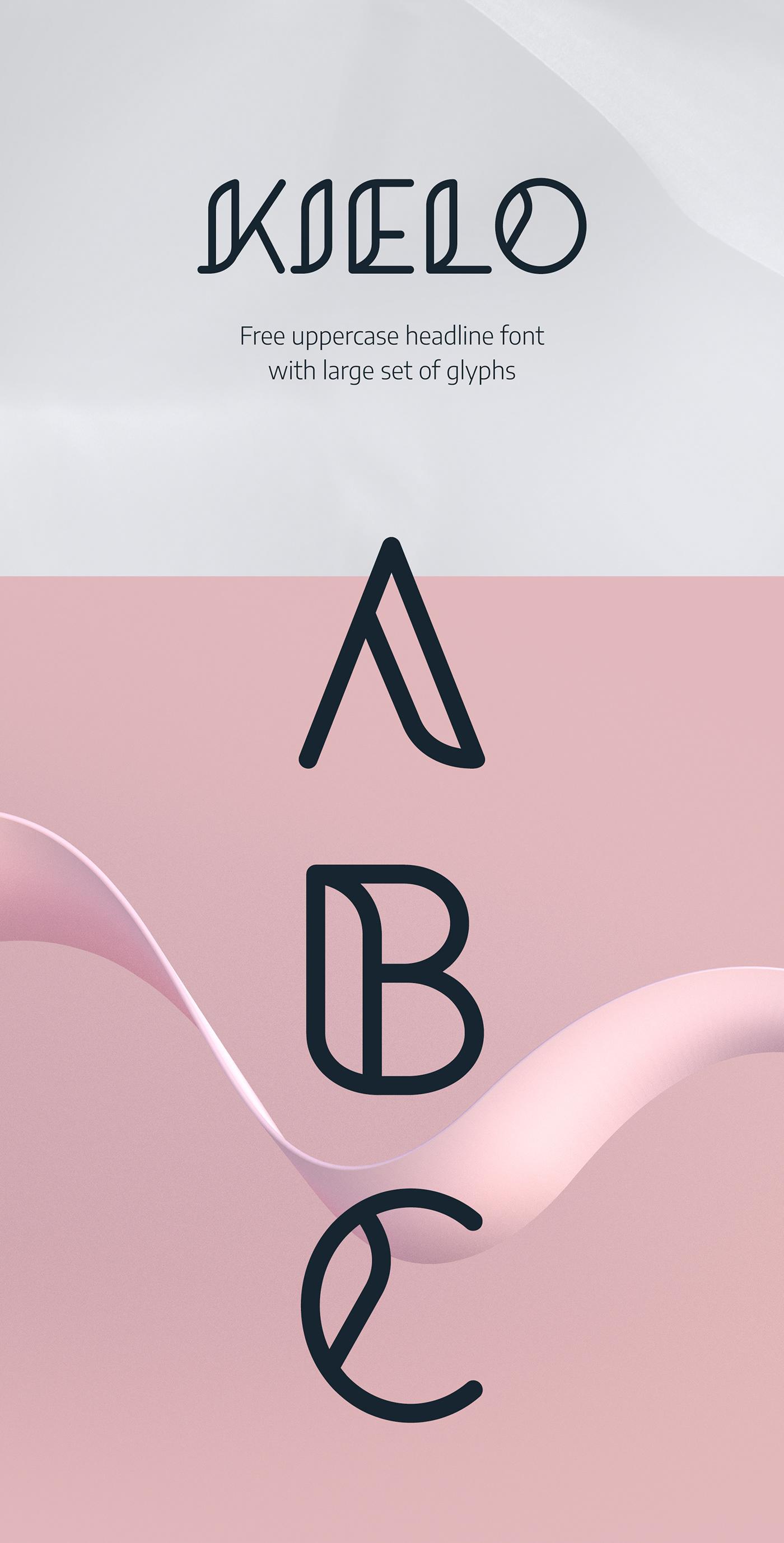 fonts font design Free font typography   custom type type design headline font font
