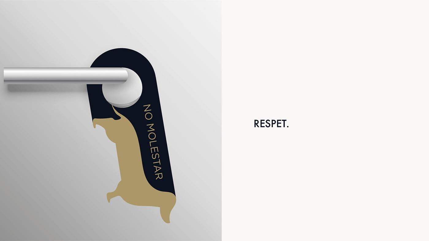 branding  hotel Hoteles Identidad Corporativa identidad gráfica logotipos  marca marcas naming perros
