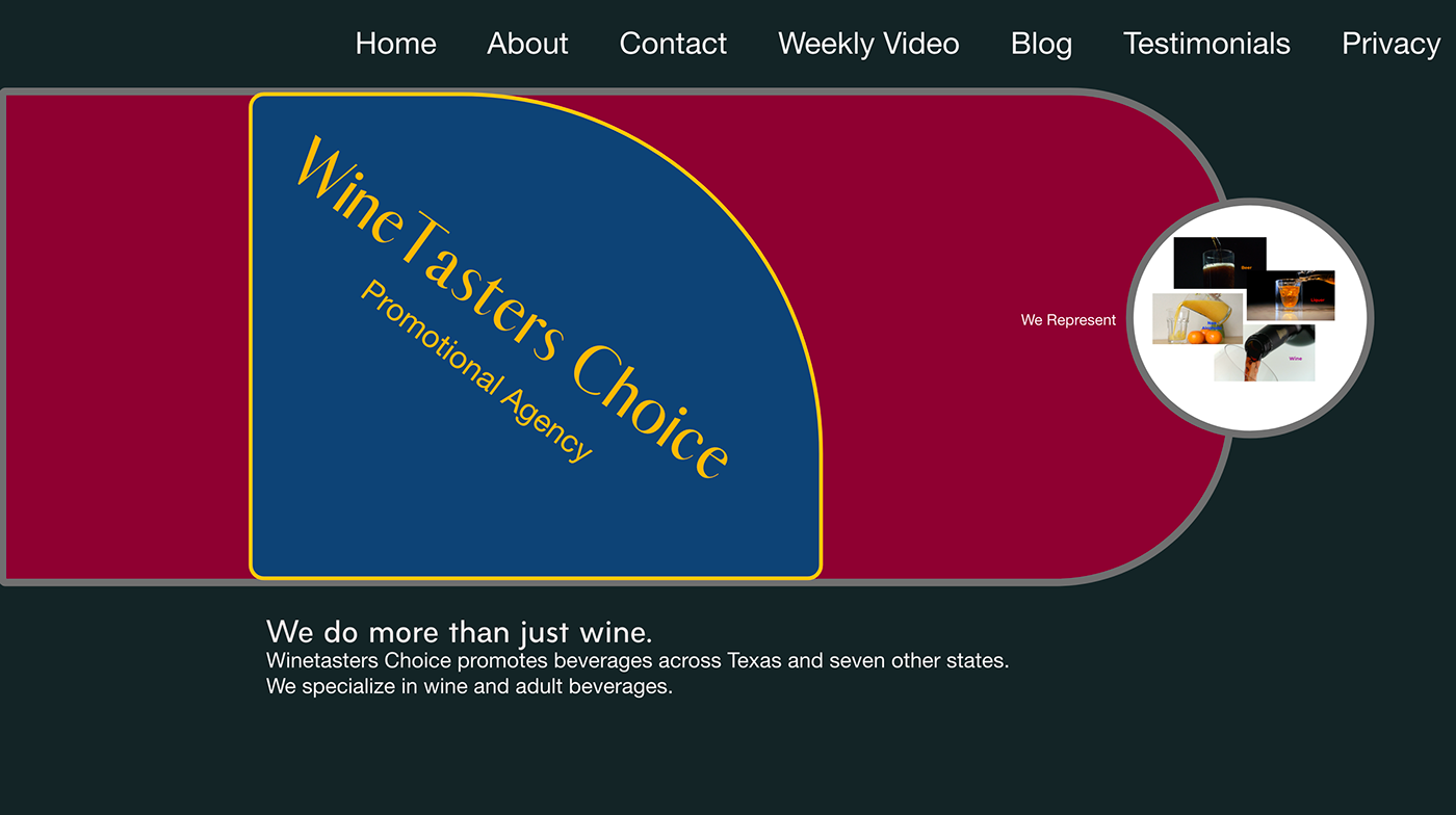 beer beverages concepts design photoshop Web Website Whiskey wine xD