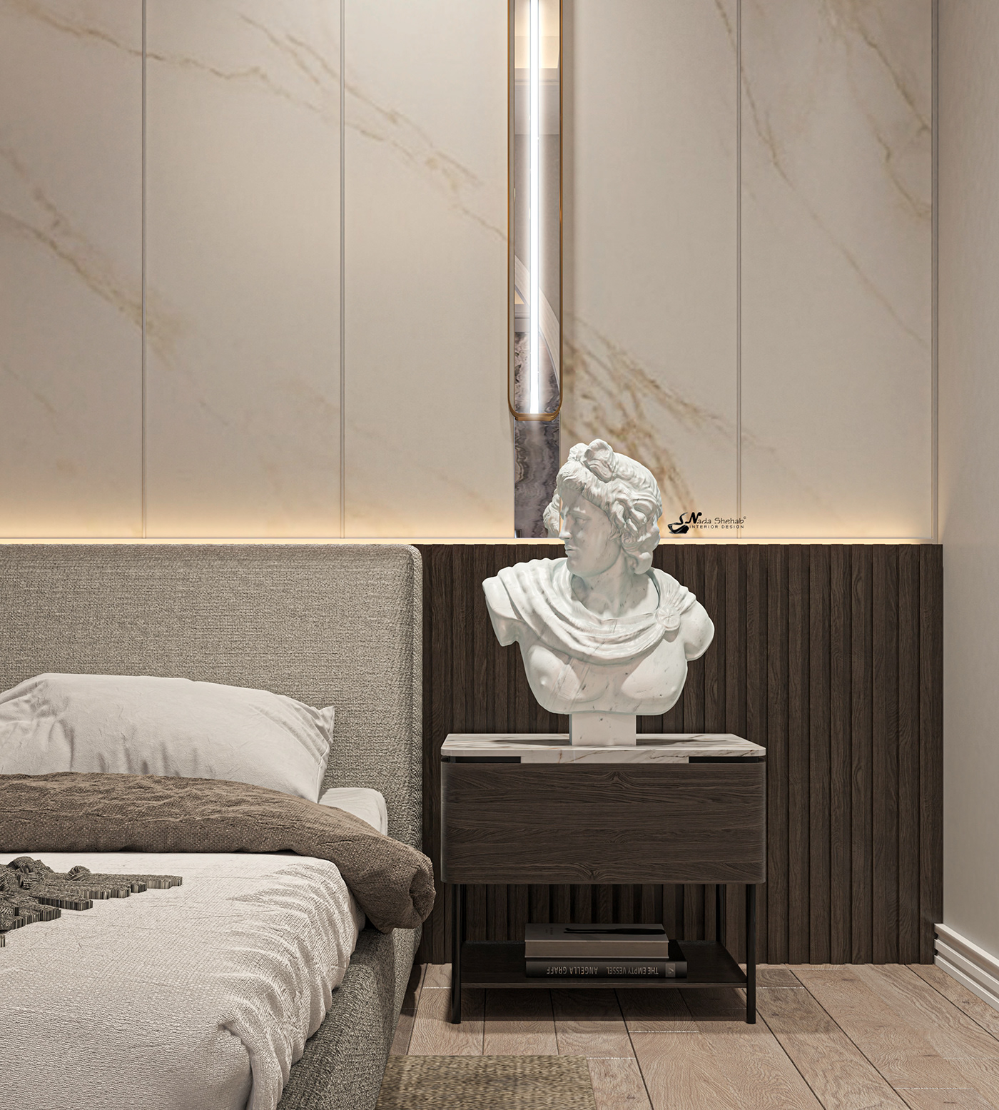 Hình ảnh có thể chứa: tường, đồ nội thất và trong nhà