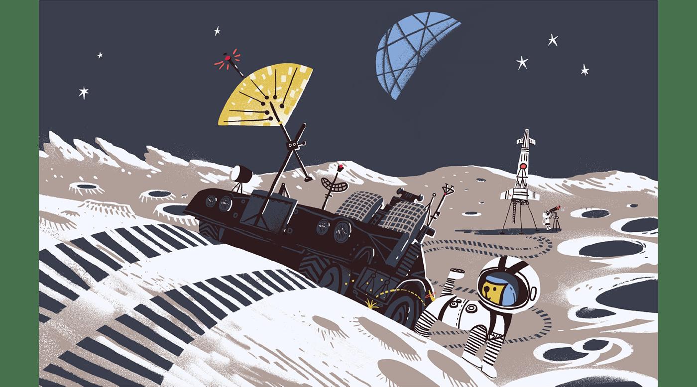 astronaut children children book Dinosaur kids Planets rocket solar system Space