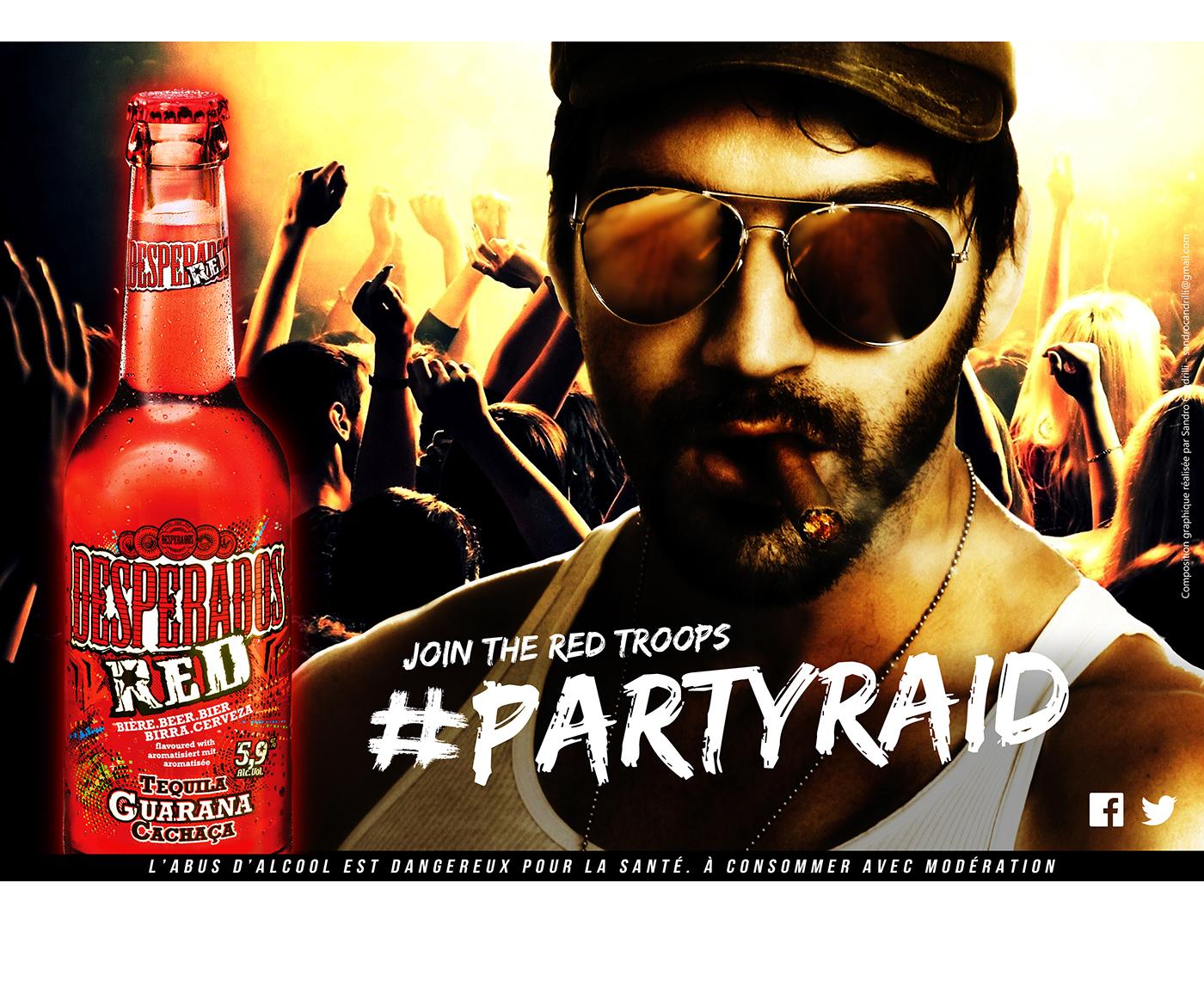 Desperados Red 360 Campaign On Behance