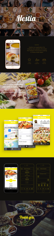 Food  app ui ux