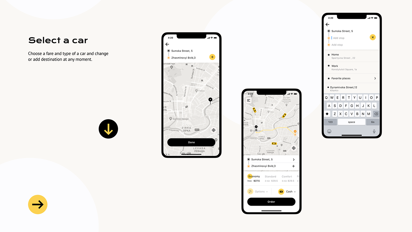 taxi taxi app Booking Cab mobile UI/UX design app taxi booking redesign Mobile app taxi order