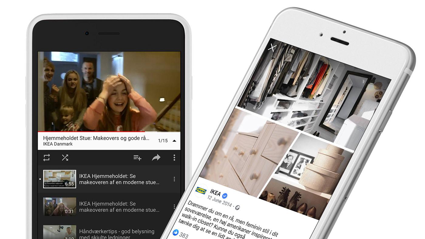 Content Marketing content design social media ikea hjemmeholdet