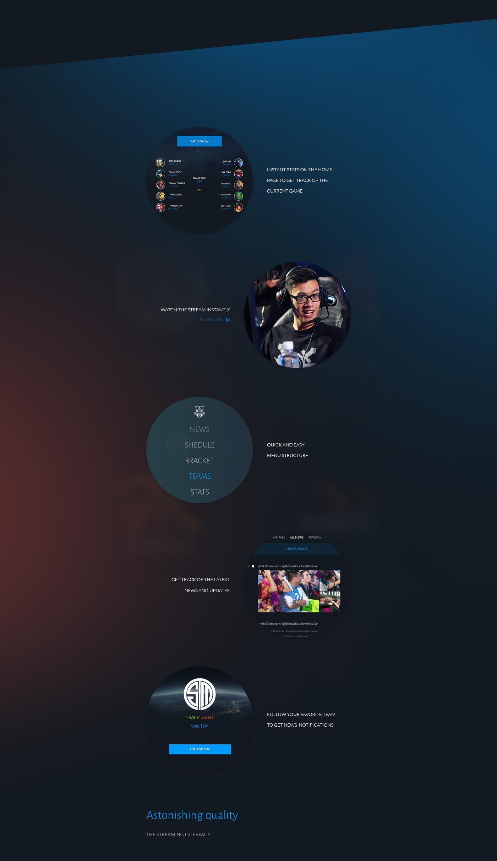 league of legends league legends user interface simplistic redesign world championship Championship WorldCup Korea RIOT GAMES riot gifs Martin Vlas yassine boutaib