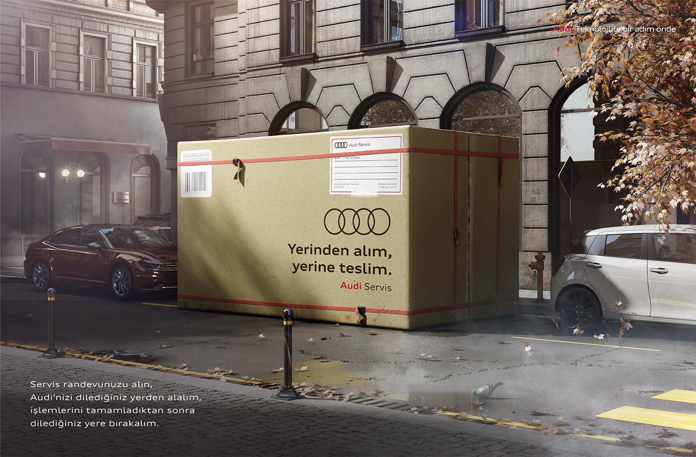Audi audi turkey audi türkiye box car CAR SERVICE service Turkey