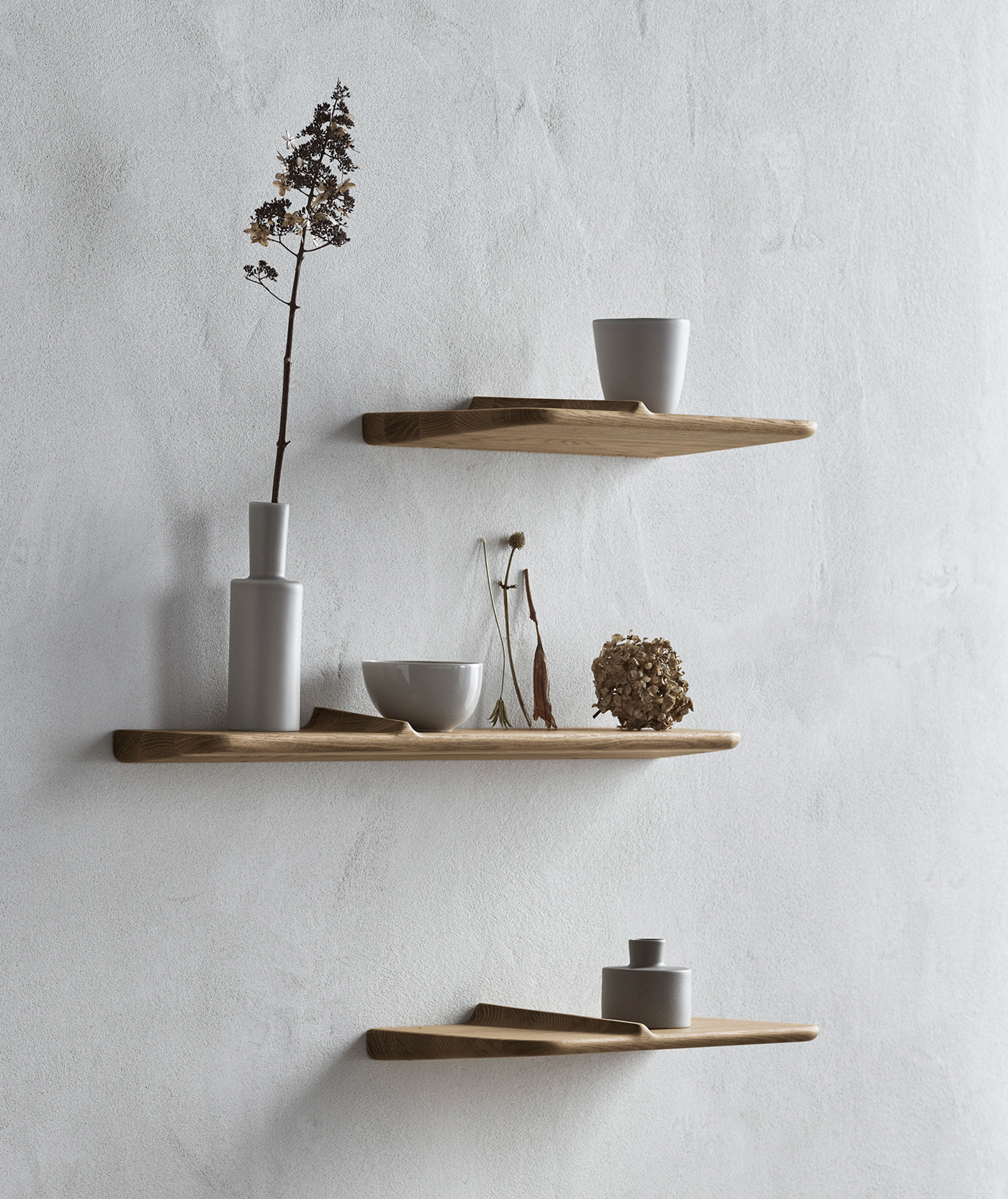 bolia furniture Pavelvetrov shelves wave wood