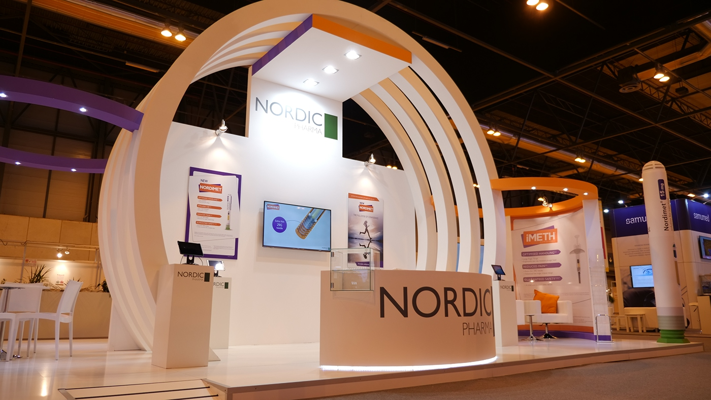 Exhibition Stand Games Ideas : Nordic pharma booth at eular on behance