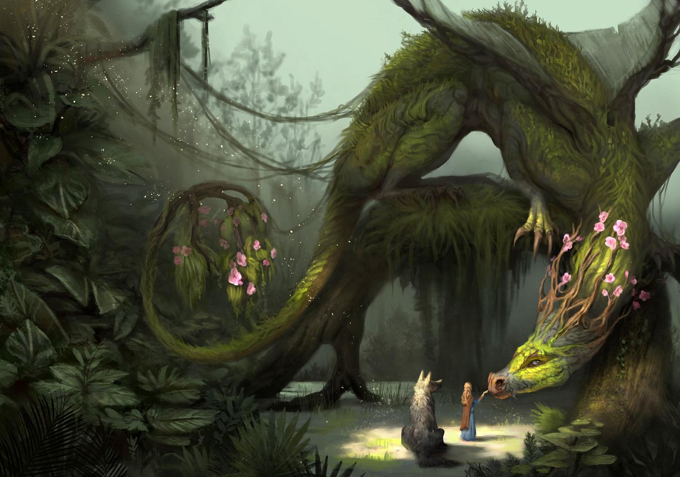 Image may contain: tree, screenshot and cartoon