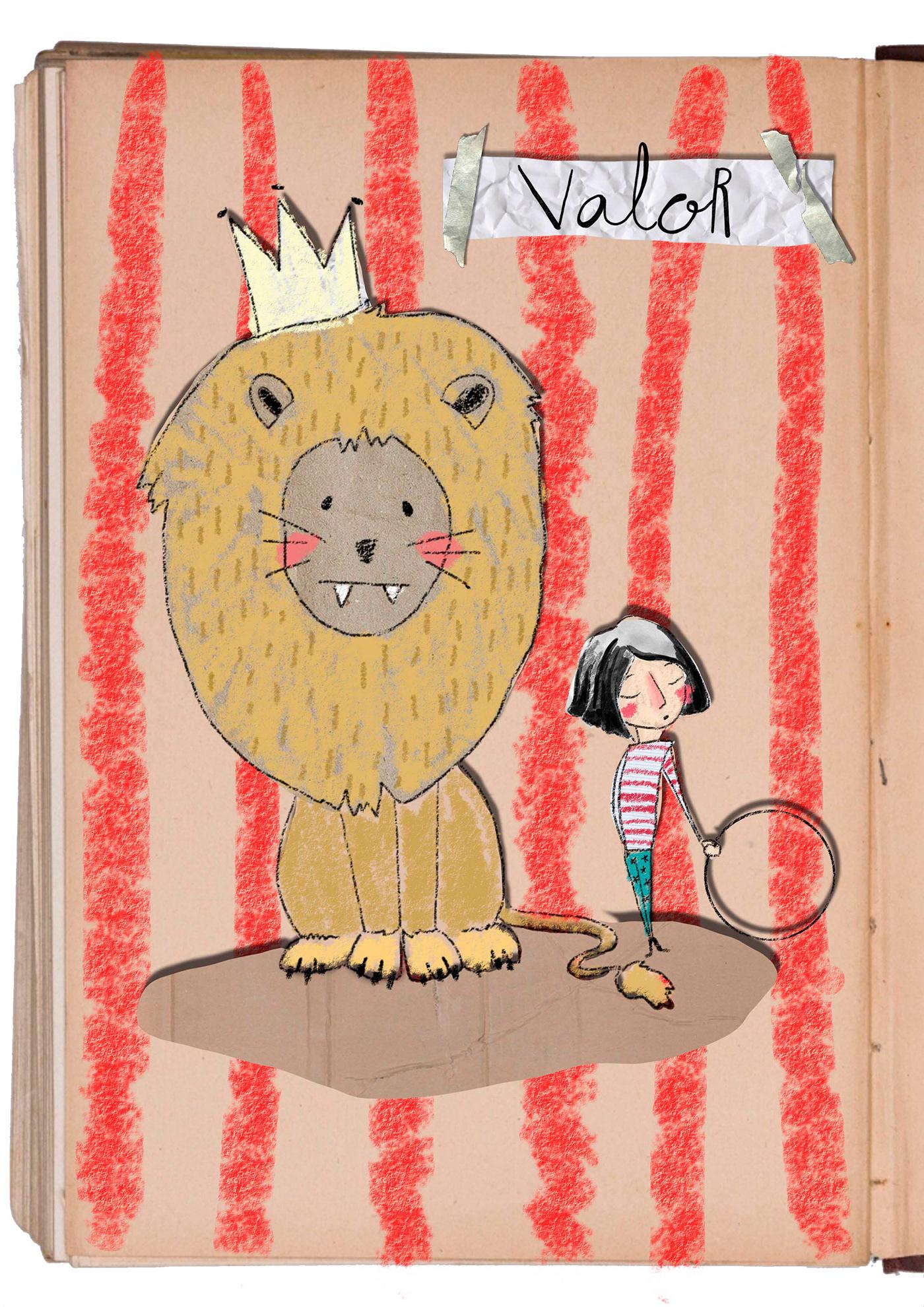 valor ilustracion ILLUSTRATION  photoshop