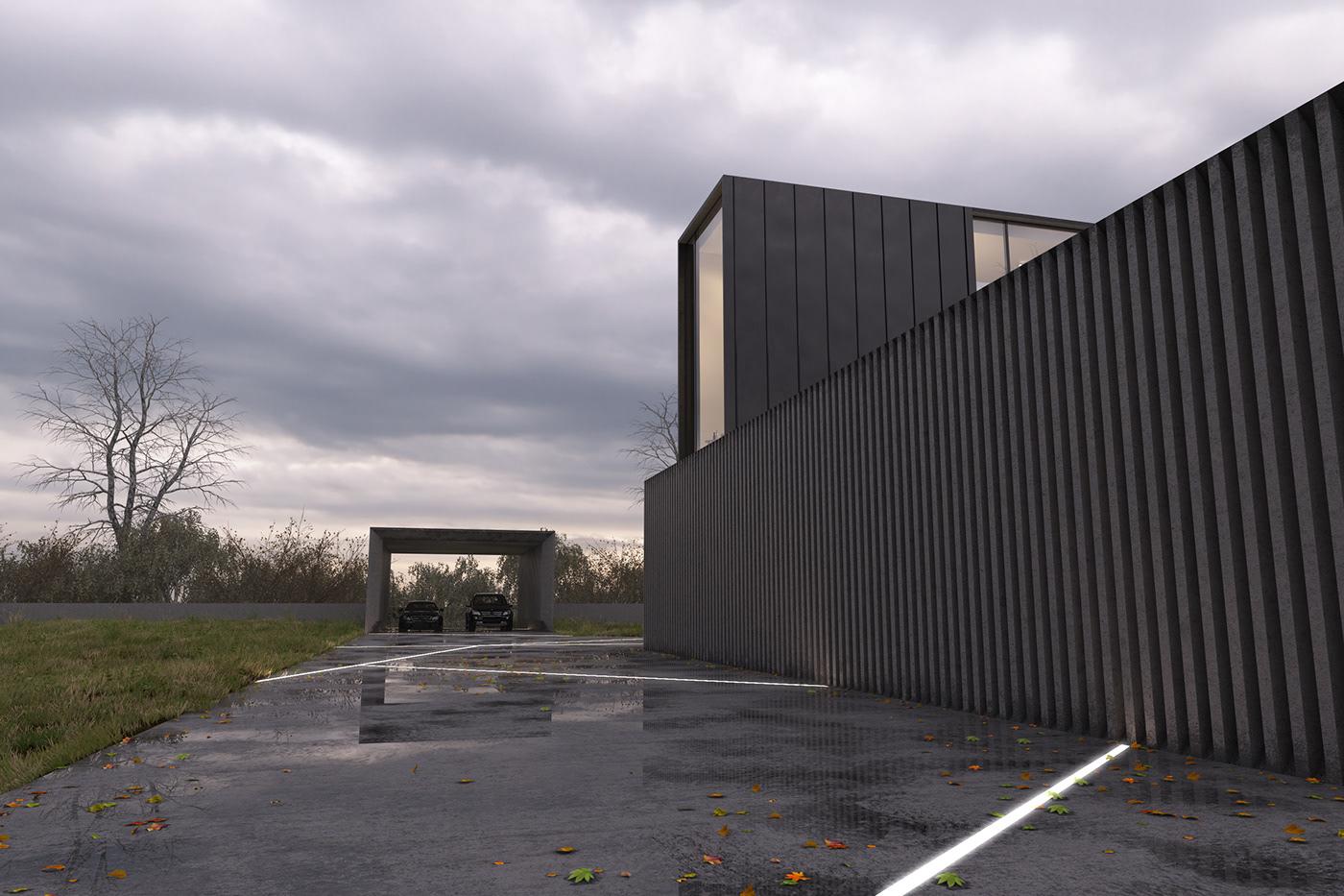 «Черный куб» — дизайн-проект с современным минималистским колоритом.