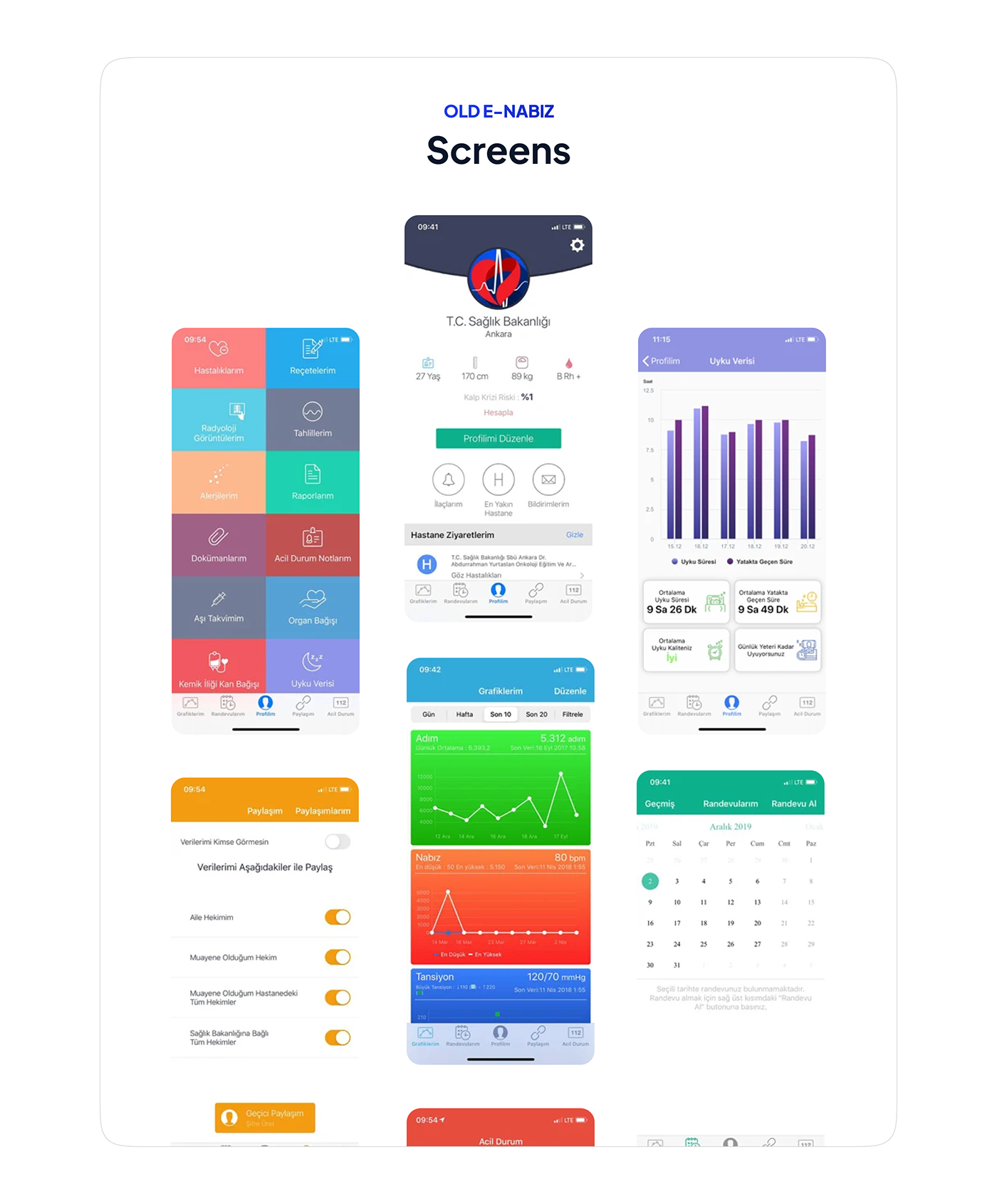 app design application Figma Health healthcare ios iphone mobile UI ux