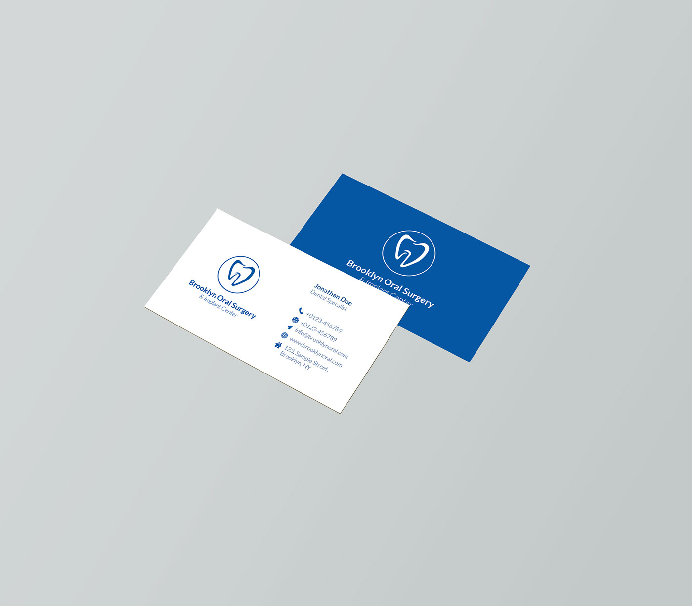 Free psd commercial business card on behance reheart Image collections