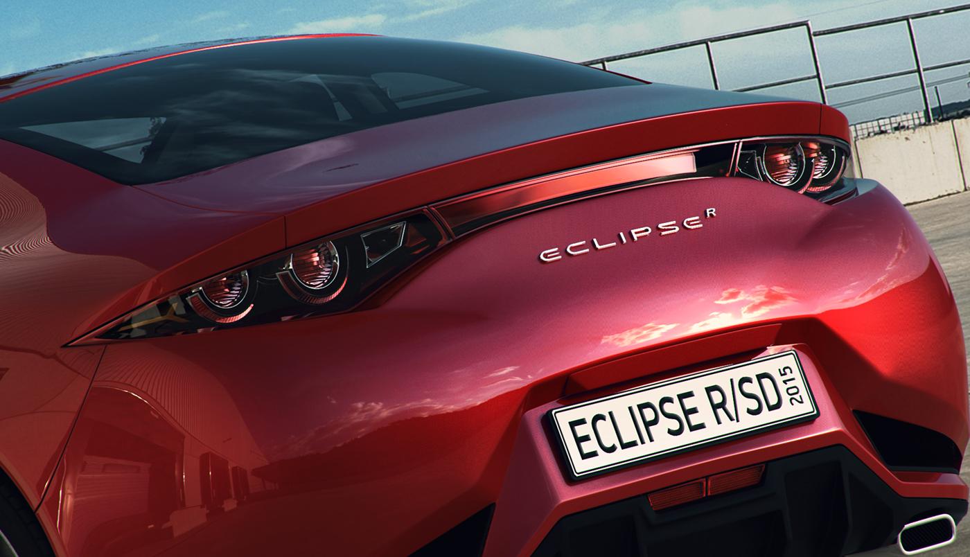 Mitsubishi Eclipse 2016 >> Mitsubishi Eclipse R Concept 2015 On Behance