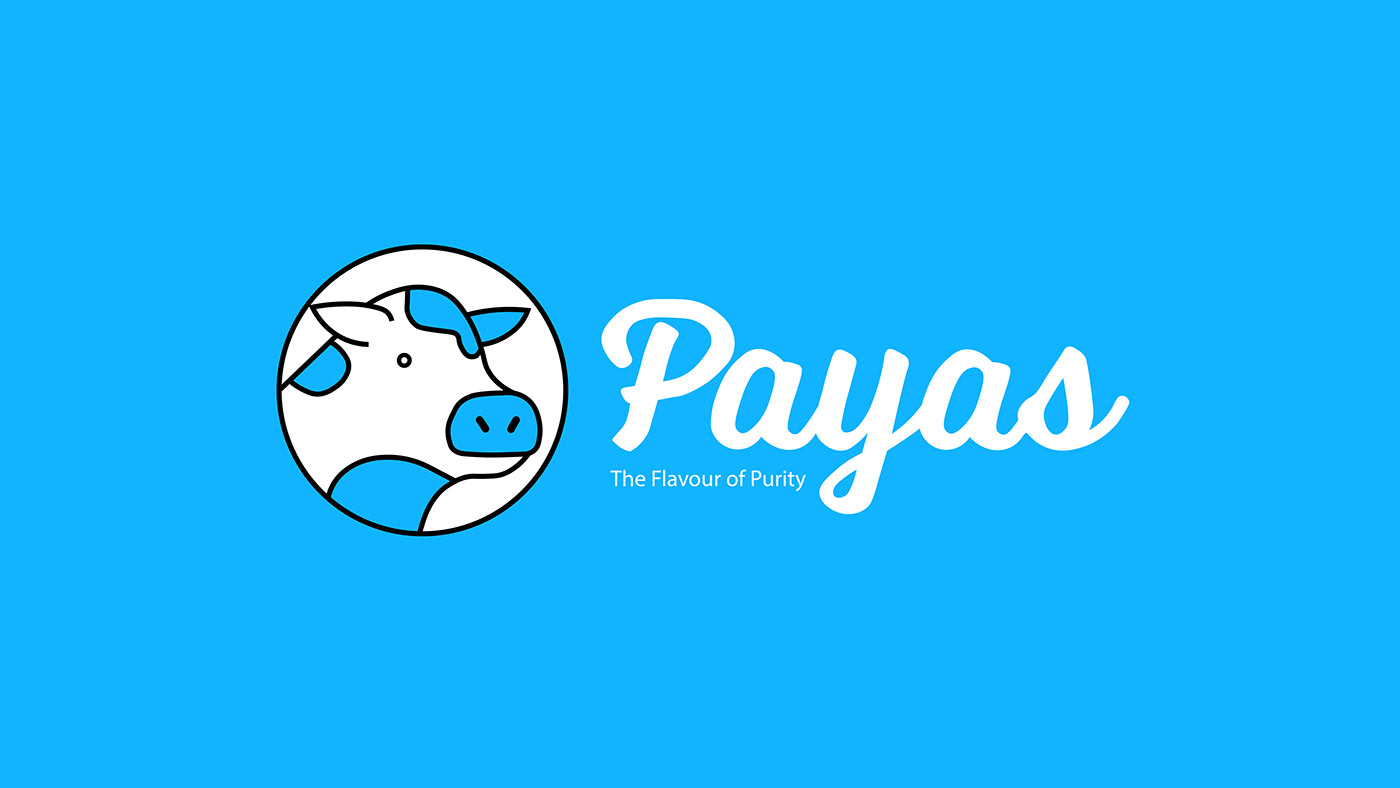 Payas the flavour of purity logo design by draphicon