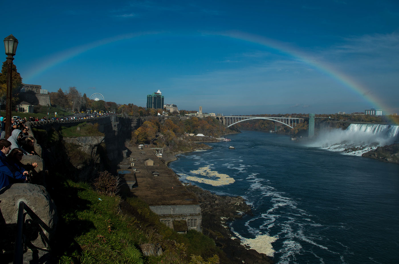 The Full Bow over Rainbow Bridge