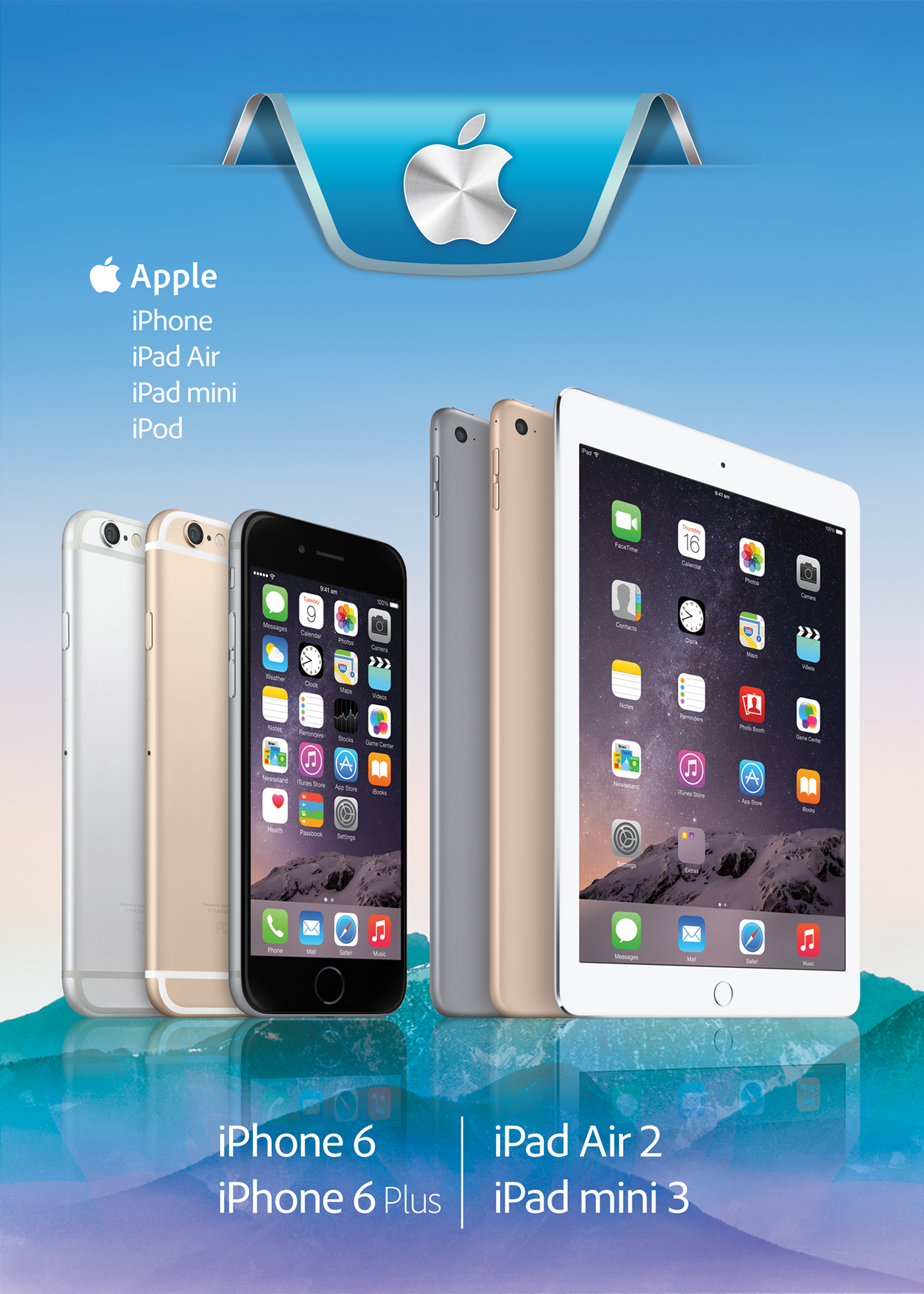 posters apple Samsung huawei iphone iPad handy