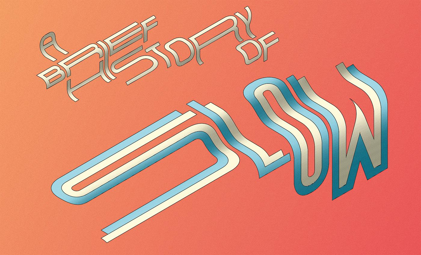 type vector Isometric print printed geometric 3D threedimensional depth lettering