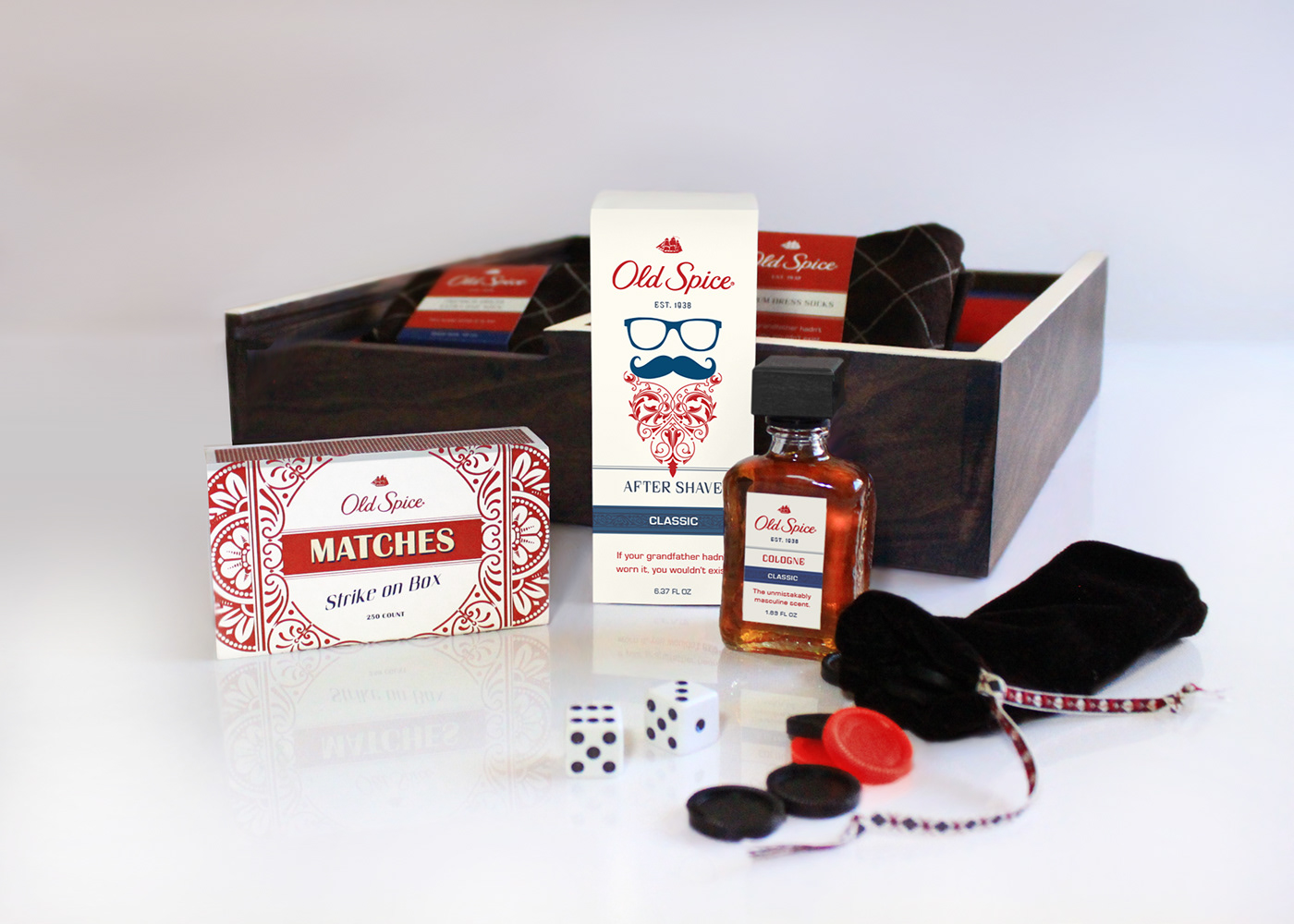 Old Spice Holiday Gift Set Packaging Design On Behance
