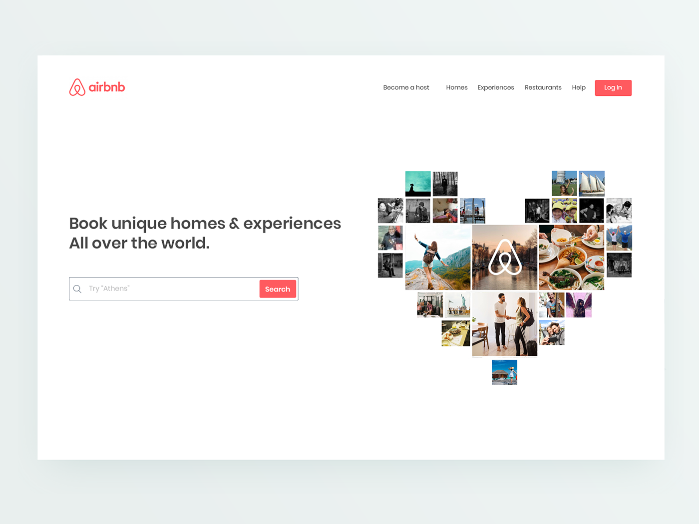 Airbnb Redesign Idea Exploration On Behance