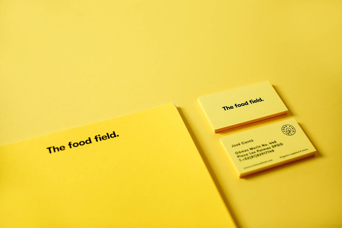 logo design graphicdesign Food  organic yellow Icon parametro monterrey healthy