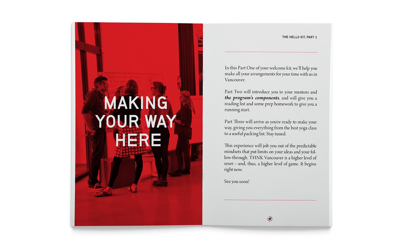 Creative School Book Cover Design Ideas ~ Thnk school of creative leadership on behance