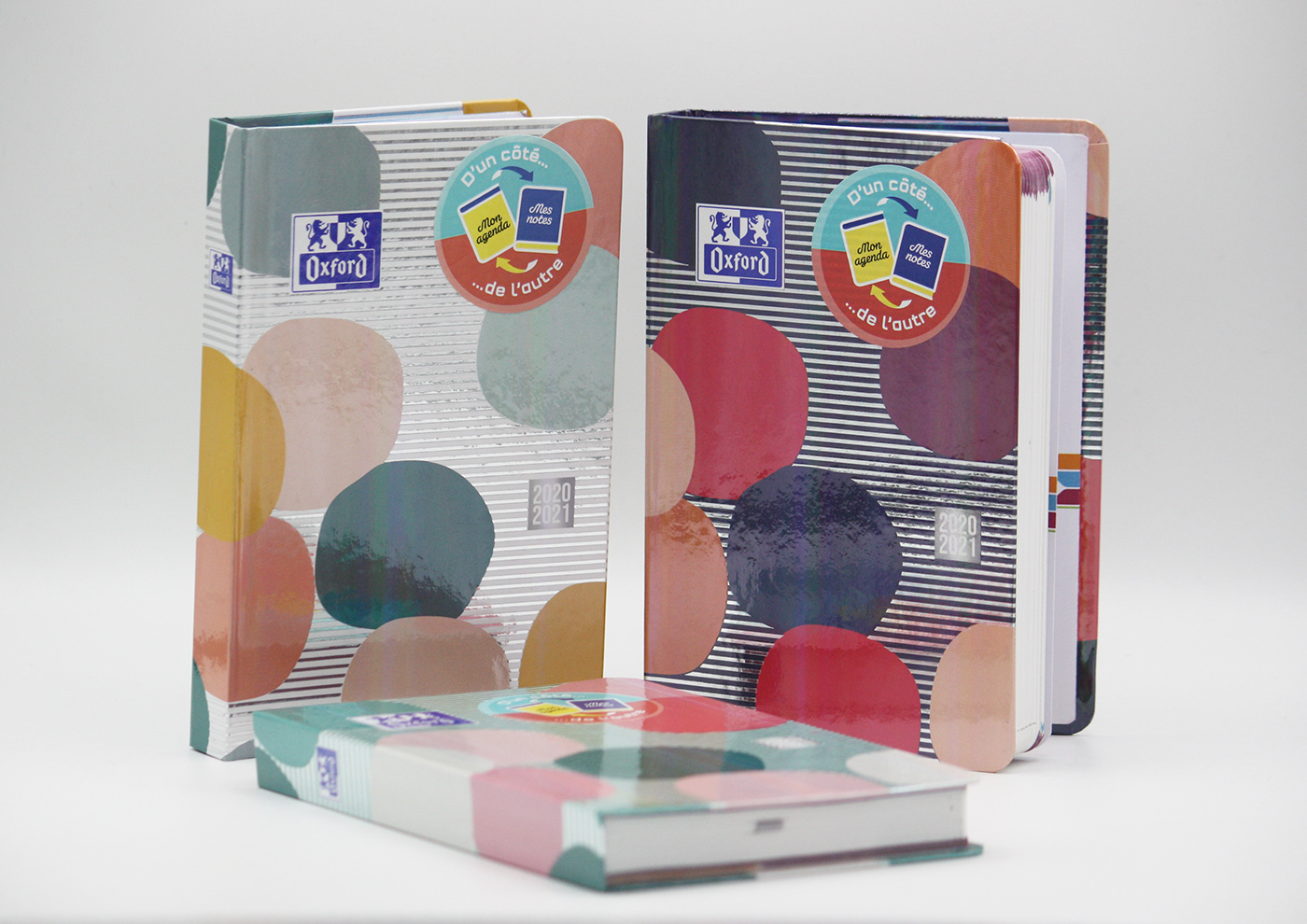 agenda agendas Fashion  graphic design  graphiste freelance identité visuelle nansush oxford print scolaire