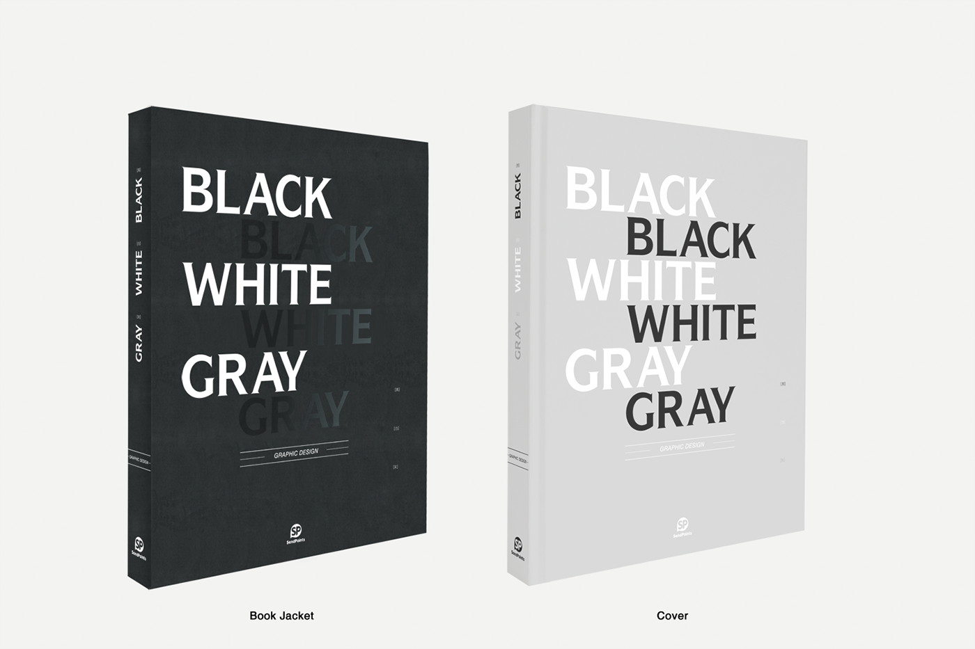 Book Cover Design Black And White : Black white gray graphic design on behance