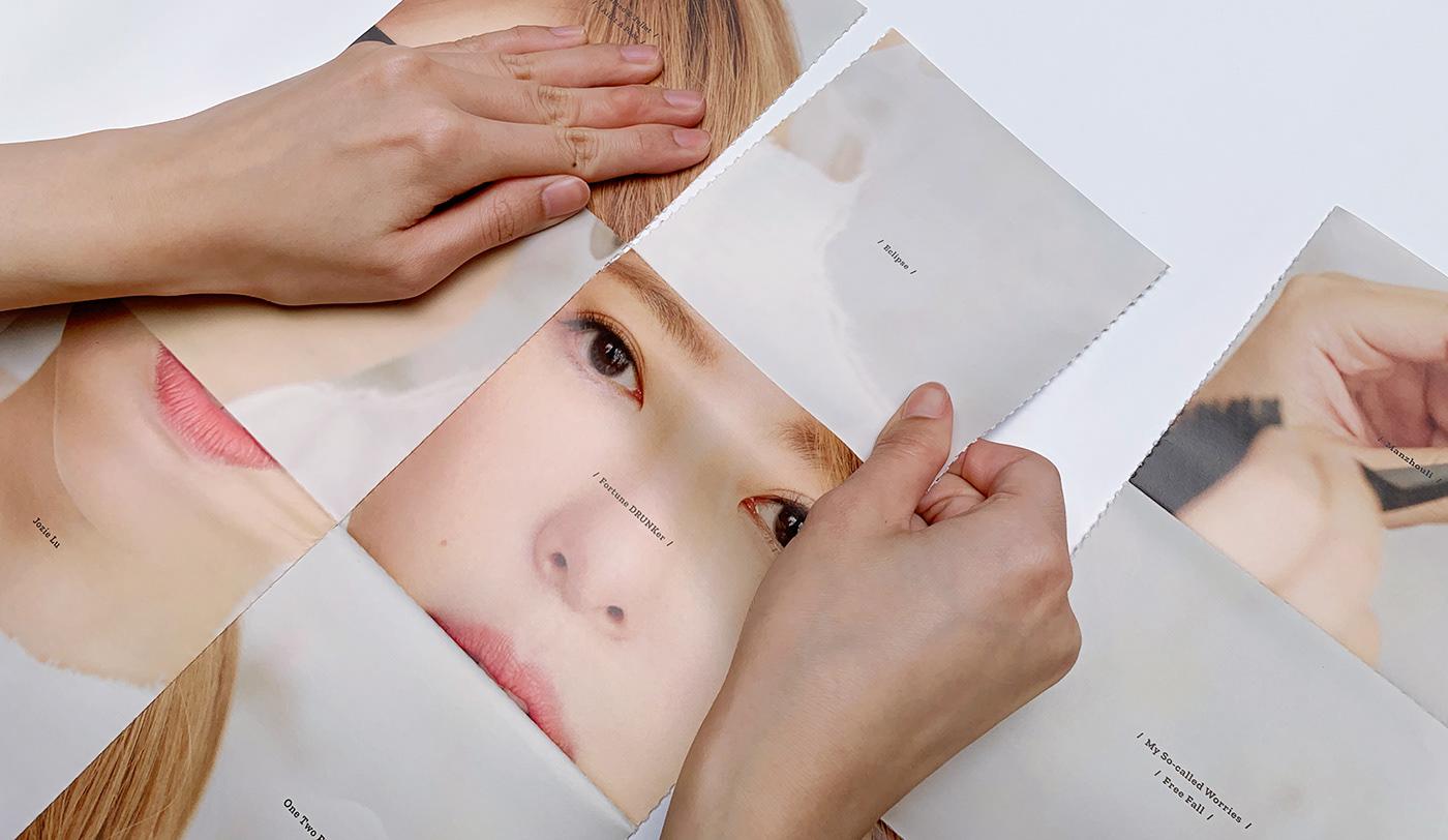 Album 印刷 吳仲倫 專輯 手寫字 究方社 路嘉欣