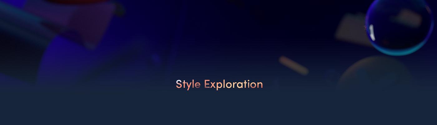 2D 3D animation  design Lark motion motion graphics  ordinary folk product video