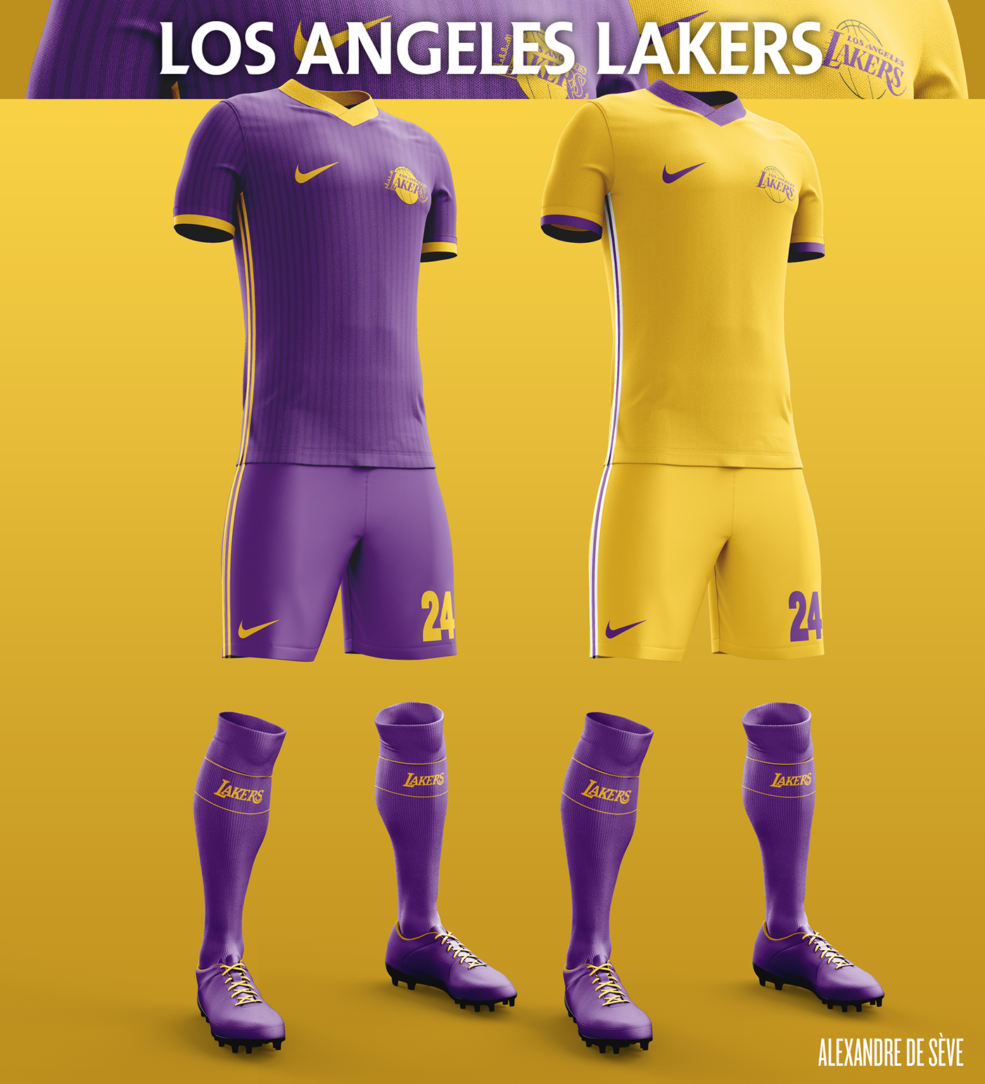 Talisman & Co. | LA Lakers Soccer Concept Kit