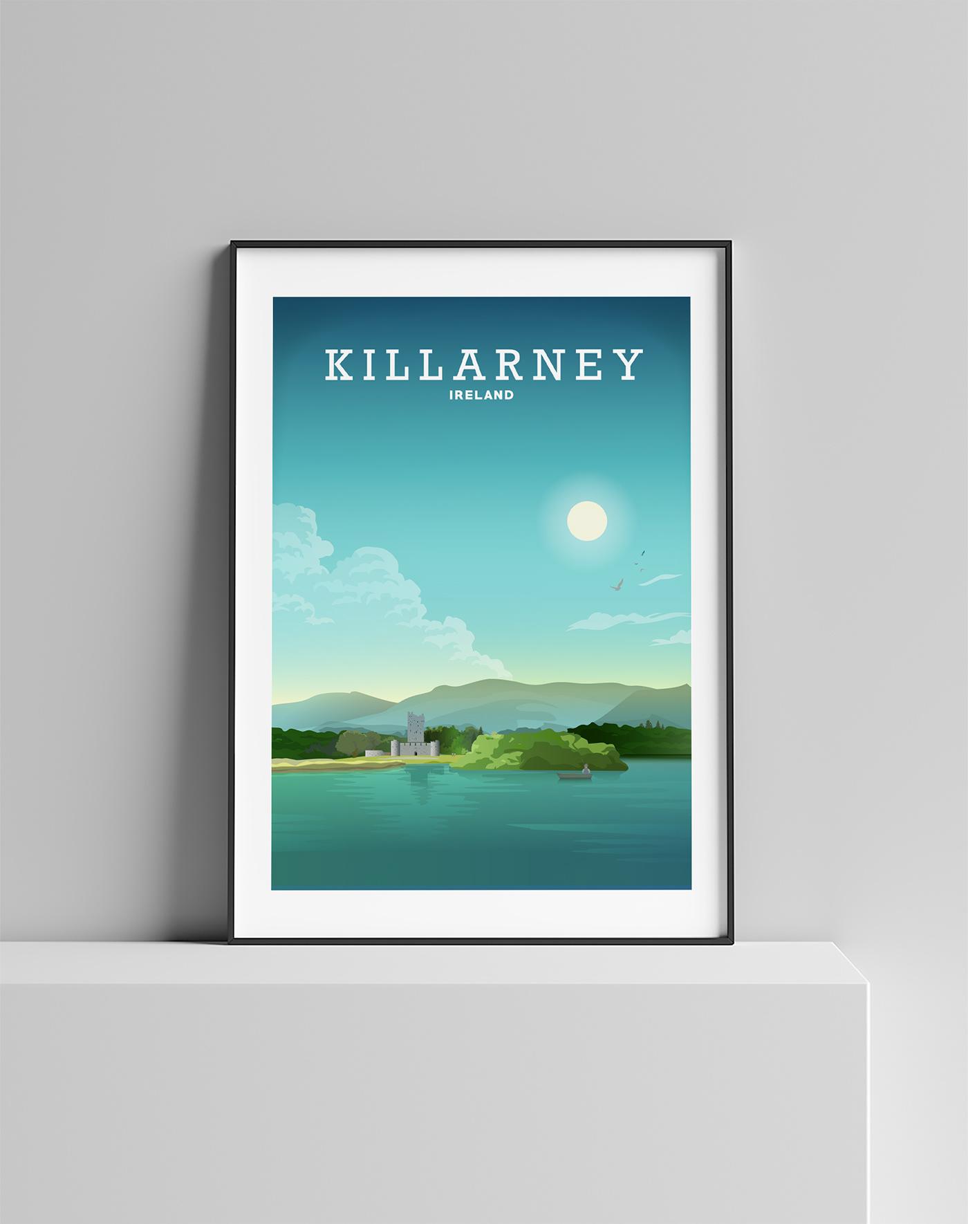 digital poster Travel