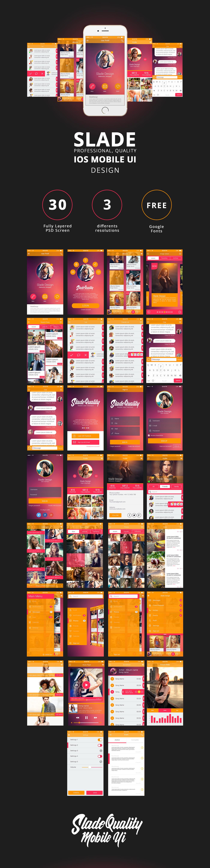 android app UI bootstrap flat GUI infographics Interface ios iOS 7 ios 8 iPad App iphone