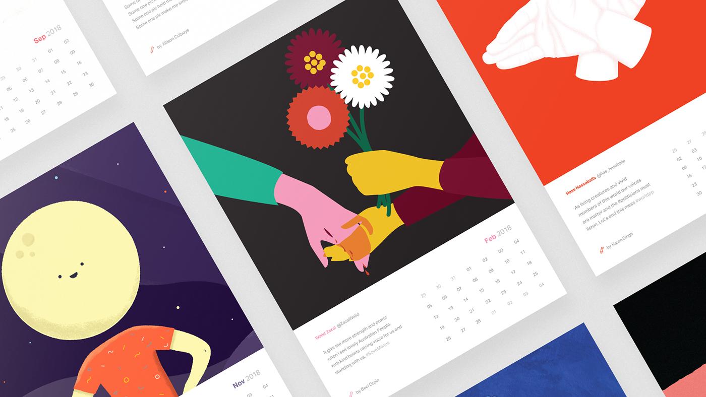 Freedom Calendar On Behance