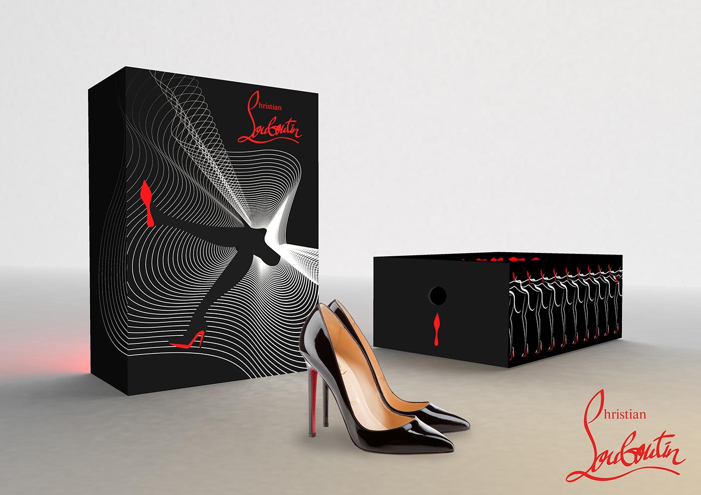 豐富的24個鞋盒包裝設計欣賞